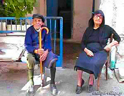 Old couple...